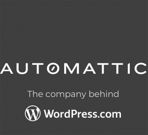 "Logo: ""Automattic, the company behind WordPress.com"""